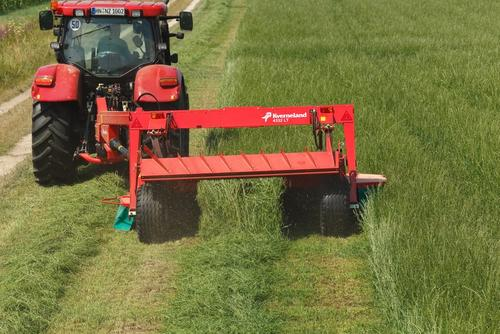 Narrow swathing