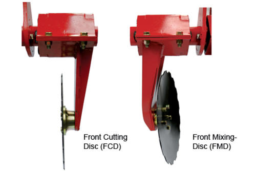 CTC - Front disc system