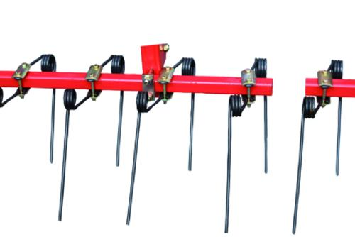 Two-rows finger harrow
